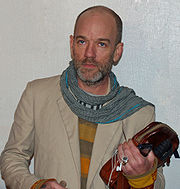Portrait of Michael Stipe (click to view image source)