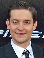 Portrait of Tobey Maguire (click to view image source)