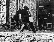 Portrait of Jackson Pollock (click to view image source)