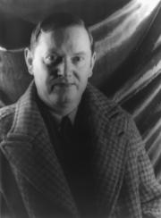 Portrait of Evelyn Waugh (click to view image source)