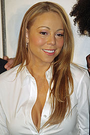 Portrait of Mariah Carey (click to view image source)