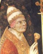 Portrait of Pope Callixtus III (click to view image source)