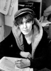 Portrait of Valerie Solanas  (click to view image source)