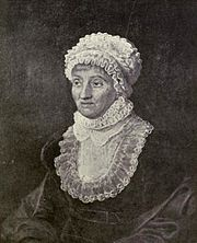 Portrait of Caroline Herschel (click to view image source)