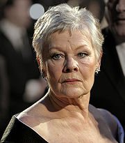 Portrait of Judi Dench (click to view image source)