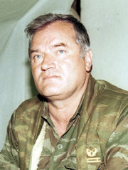 Portrait of Ratko Mladic (click to view image source)