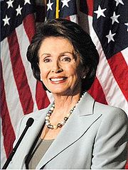 Portrait of Nancy Pelosi (click to view image source)