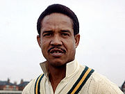 Portrait of Garry Sobers (click to view image source)