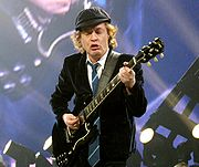 Portrait of Angus Young (click to view image source)