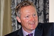 Portrait of Rory Bremner (click to view image source)