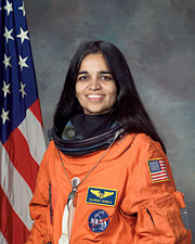 Portrait of Kalpana Chawla (click to view image source)