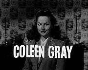 Portrait of Coleen Gray (click to view image source)