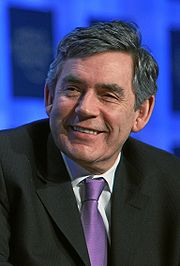 Portrait of Gordon Brown (click to view image source)