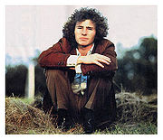 Portrait of Tim Buckley  (click to view image source)
