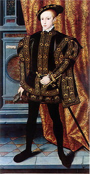 Portrait of King of England Edward VI (click to view image source)