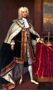 Portrait of King of England George II (click to view image source)