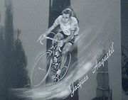 Portrait of Jacques Anquetil (click to view image source)