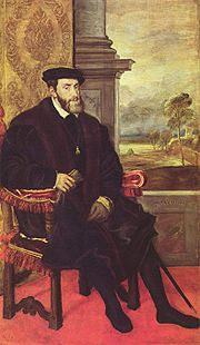 Portrait of King of Spain Charles V (click to view image source)
