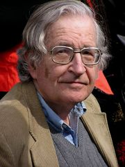 Portrait of Noam Chomsky (click to view image source)