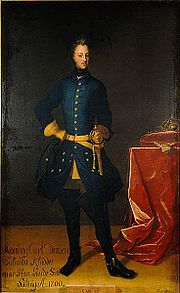 Portrait of King of Sweden Charles XII (click to view image source)