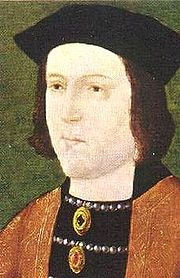 Portrait of King of England Edward IV (click to view image source)