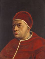 Portrait of Pope Leo X (click to view image source)