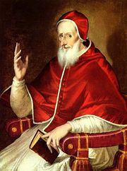 Portrait of Pope Pius V (click to view image source)