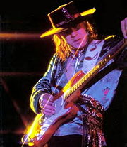 Portrait of Stevie Ray Vaughan (click to view image source)