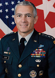 Portrait of Wesley K Clark (click to view image source)