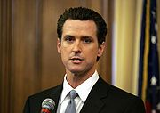 Portrait of Gavin Newsom (click to view image source)
