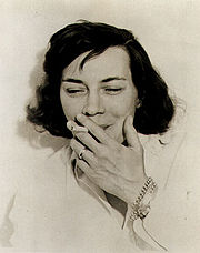 Portrait of Patricia Highsmith  (click to view image source)