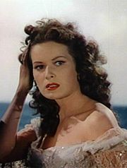 Portrait of Maureen O'Hara (click to view image source)