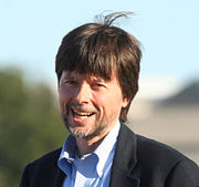 Portrait of Ken Burns (click to view image source)