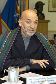 Portrait of Hamid Karzai (click to view image source)