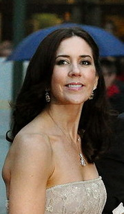 Portrait of Crown Princess of Denmark Mary (click to view image source)