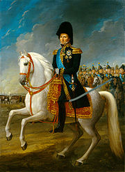 Portrait of King of Sweden Carl XIV Johan (click to view image source)