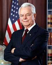 Portrait of Robert Byrd (click to view image source)
