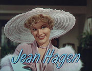 Portrait of Jean Hagen (click to view image source)