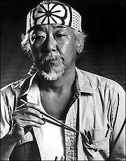 Portrait of Pat Morita  (click to view image source)