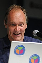 Portrait of Tim Berners-Lee (click to view image source)
