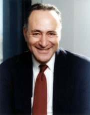 Portrait of Chuck Schumer (click to view image source)