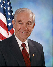 Portrait of Ron Paul (click to view image source)