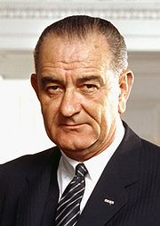 Portrait of Lyndon Baines Johnson (click to view image source)
