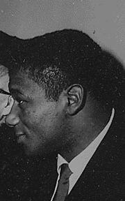 Portrait of Floyd Patterson (click to view image source)