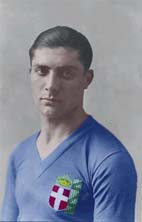 Portrait of Giuseppe Meazza (click to view image source)