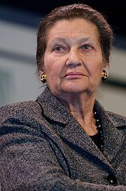 Portrait of Simone Veil (click to view image source)