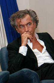 Portrait of Bernard-Henri Lévy (click to view image source)
