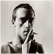 Portrait of David Wojnarowicz  (click to view image source)