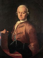 Portrait of Leopold Mozart (click to view image source)