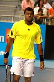 Portrait of Jo-Wilfried Tsonga (click to view image source)